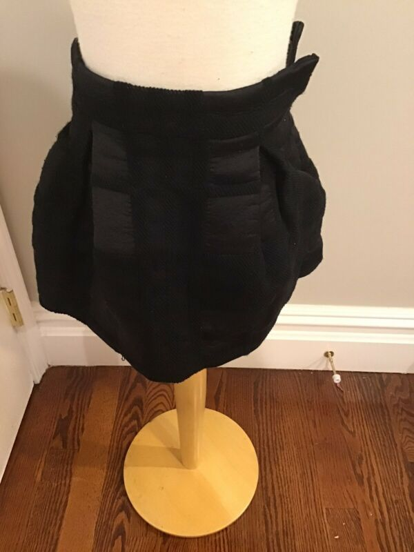 Burberry Black Signature Skirt 3y