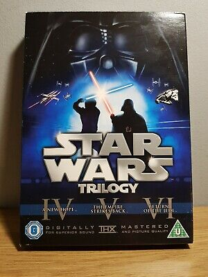 Star Wars - The Original Trilogy (DVD 2008 6-Discs) Includes Theatrical Versions