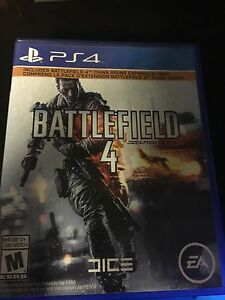 PS4 Games for Sale battlefield 4 overwatch nhl15  Cambridge Kitchener Area image 4