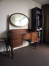 Antique Dressing Table with mirror North Melbourne Melbourne City Preview
