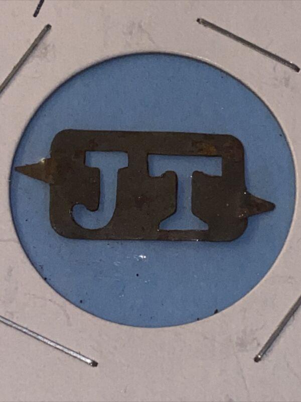 Vintage Tobacco Tag Tim Litho JT