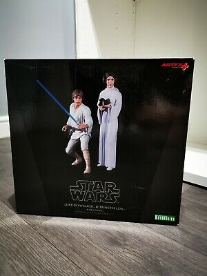 Luke Skywalker and Princess Leia Star Wars Kotobukiya ARTFX Statues 1/10 Scale