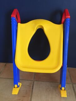 Kids toilets training seat ladder