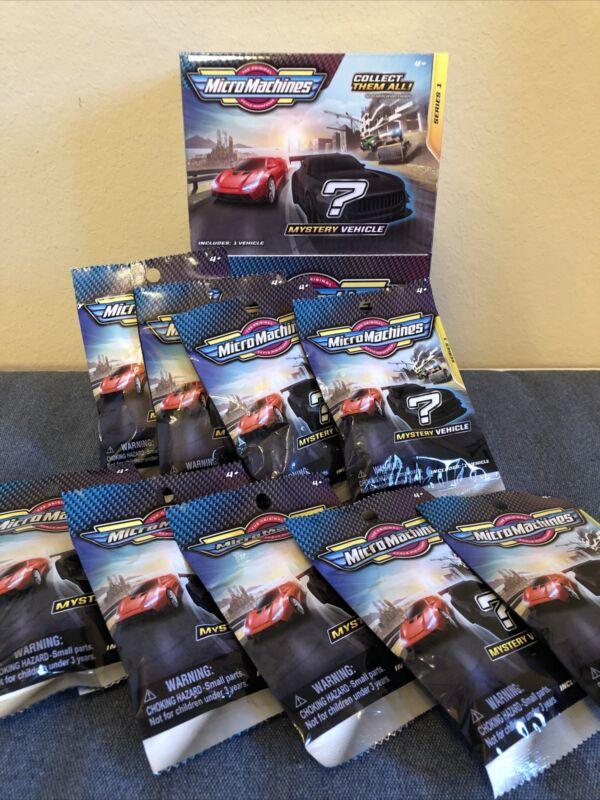 2020 2021 Micro Machines Series 1 Single Packs Complete SET of 9 blind bags