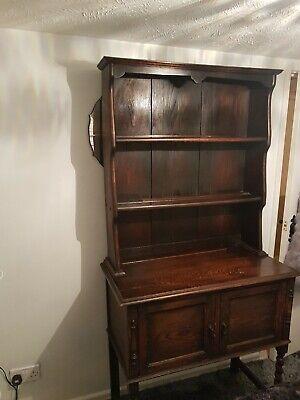 Antique oak Display dresser