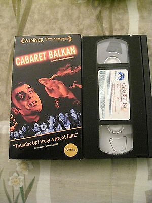 Cabaret Balkan  1998  Vhs Aka  Bure Baruta  Foreign Subs Available