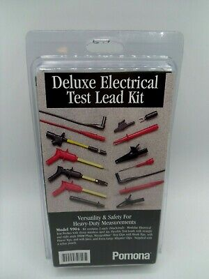 Pomona Electronics 5904a Deluxe Electrical Dmm Test Lead Kit New Package