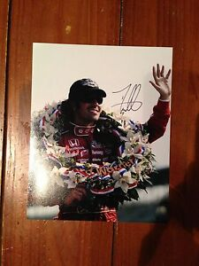 DARIO-FRANCHITTI-SIGNED-AUTOGRAPHED-8X10-PHOTO-INDY-500-TARGET-COA-D