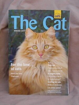 """"""" THE CAT """" Cats Protection Magazine. Issue Winter 2017."""