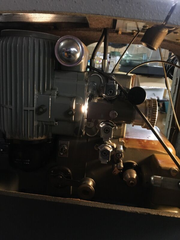 Bell & Howell Filmosound 285 Movie Projector 16mm