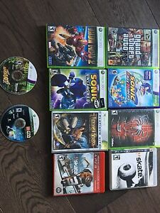 Xbox360 pack all games in picture included
