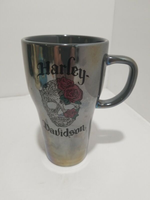 "Harley Davidson coffee mug / cup 6"" tall 2017"