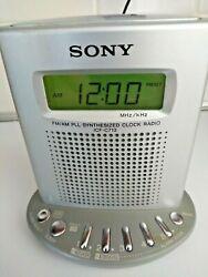 Sony ICF-C713 Radio FM/AM PLL Synthesized Clock Radio Alarm Unit