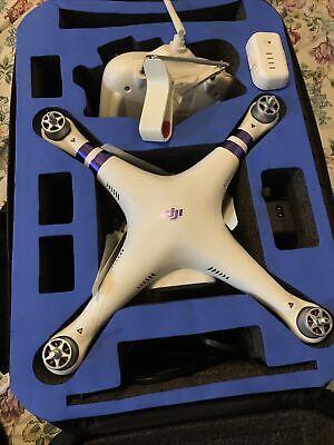 DJI Phantasm 3 Standard Quadcopter Camera Drone - White