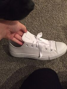 Leather White Converse