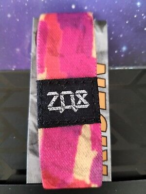 Zox Strap RISEN PINK, Silver! Card Included! Strap from Secret Stash! Strap 0275