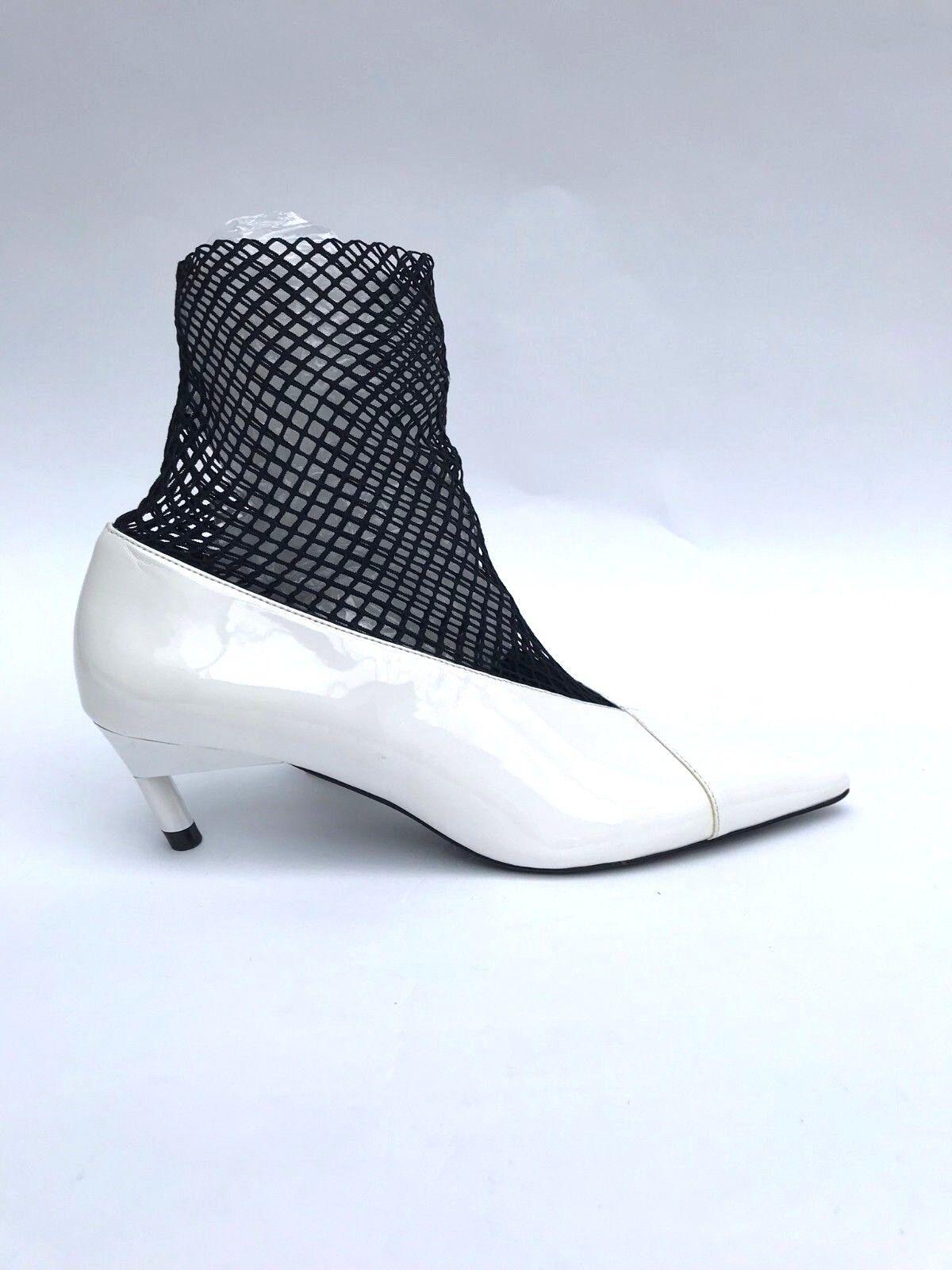 Détails sur Zara Blanc Chaussures Maille Taille UK5 EUR38 US7.5