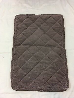Orvis Medium 24x36 inch Brown Quilt Zip Close Dog Bed Cover
