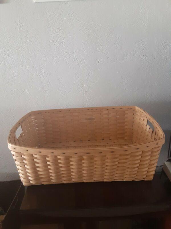Longaberger Extra Large Basket Rare!