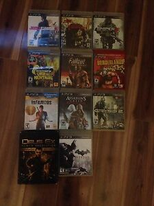 Jeux playstation (PS3)