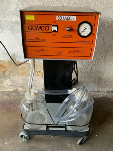 (2) Gomco 6053 Surgical Suction Apparatus System