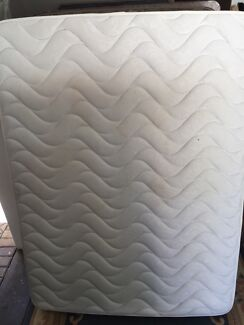 Pillow top queen mattress good condition deliver for fee