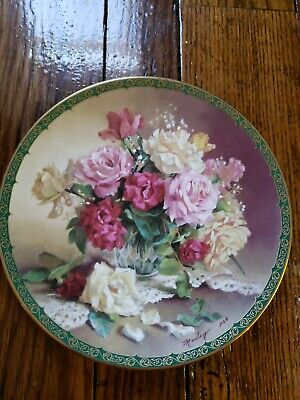 Romantic Series (Victorian Beauty Plate, Vieonne Morley's Romantic Roses Series, WS George China )