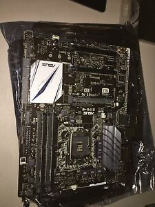 Z170 -E Asus Mother Board Brand new