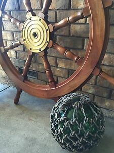 Very large ship sailing wheel. North Haven Port Adelaide Area Preview