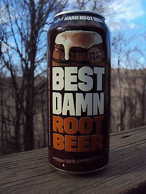 * BEST DAMN ROOT BEER * 16 oz.can Hard Root