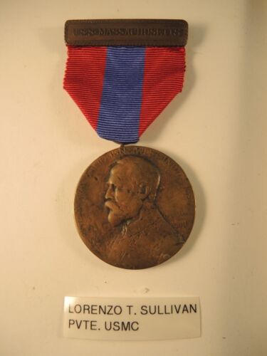 Sampson medal USS Massachusetts to Sullivan Marine Corps