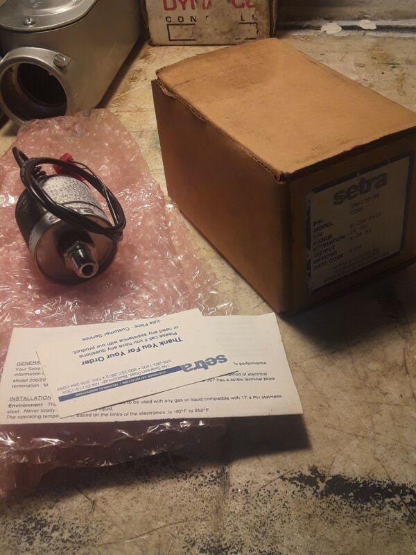 Setra C206 206120-06 Pressure Transmitter 0-250 psig NOS
