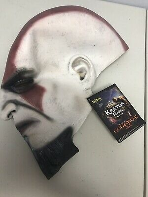 God Of War Kratos Costume Mask- Ps2 Promo Item 2009 - New With