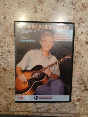 The C-A-G-E-D Guitar System Made Easy USED VERY GOOD - $12.99