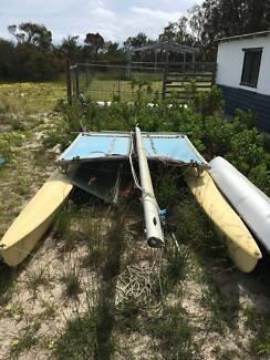Hobie Cat 16 Fibreglass sailing boat