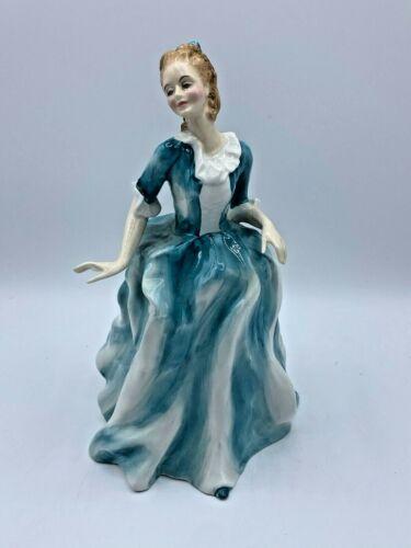 "Royal Doulton ""Yvonne"" HN3038- Bone China Figurine - Retired - 8.5"