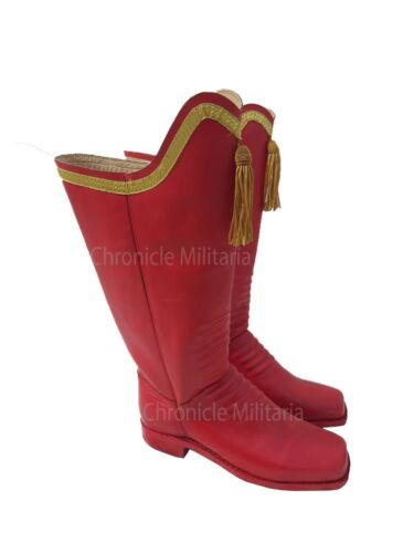 Napoleonic war officer boots, French reproduction boots