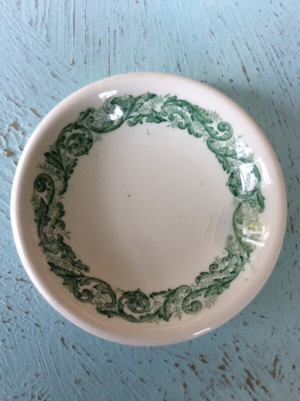 Antique J&G Meakin Waldorf Transferware Ironstone Butter Pat
