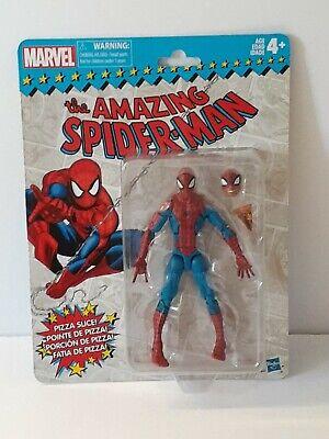 """Marvel Legends Vintage Retro Wave 1 Pizza Spider-Man Hasbro 6"""" Peter Parker NEW"""