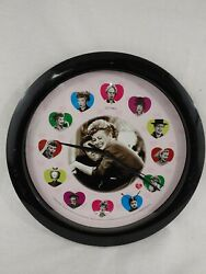I Love Lucy Centric Wall Clock * Please Read