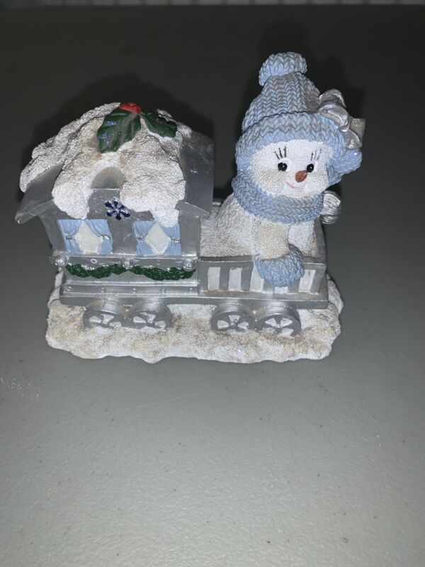 "Encore Snow Buddies  ""Blizzy In Caboose ""   No Box"