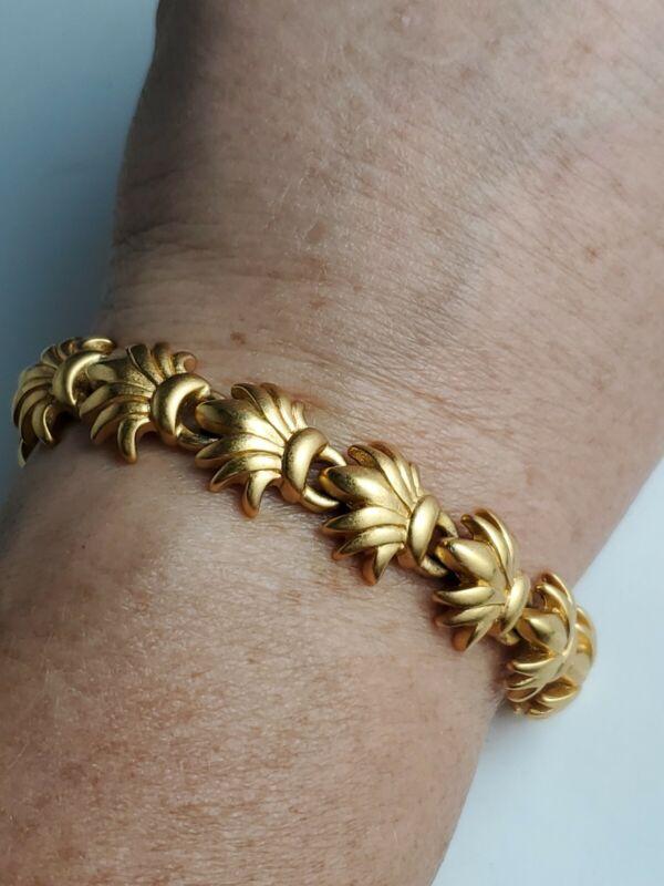 Vintage Gold Toned Monet Bracelet