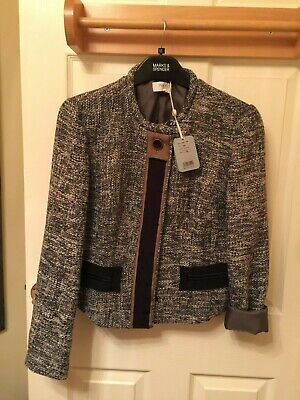 HOSS INTROPIA jacket in Grey UK Size 12