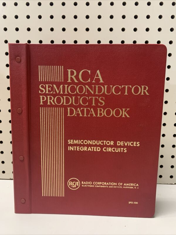 Vintage RCA Semiconductor Products Databook Files 1-300 - HUGE COLLECTIBLE RARE