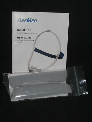 ResMed Swift FX Soft Wraps - set of 2 - Gray - CPAP - NEW - FREE Shipping