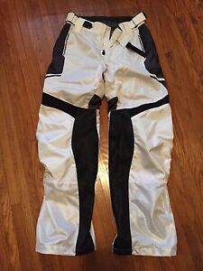 Icon Anthem motorcycle mesh over pants