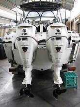 EVINRUDE ETEC 2 X 115HP XL 2007 WITH RIGGING ONLY(NO HYDRAULICS). Tarneit Wyndham Area Preview