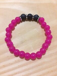 Aromatherapy Essential Oil Bracelets with Lava rock London Ontario image 8