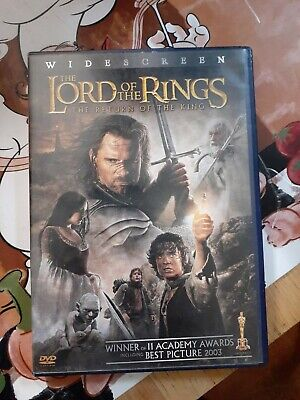 The Lord of the Rings Return of the King DVD 2-Discs Widescreen