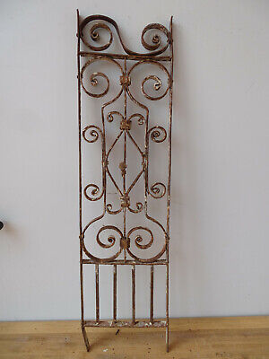 V3959 Window Bars ~ Balkongitter~Trellis~Art Nouveau Fence Element Grid